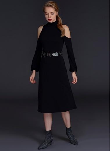 Omuz Detaylı Elbise-People By Fabrika